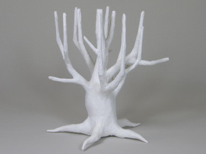 紙で作る木