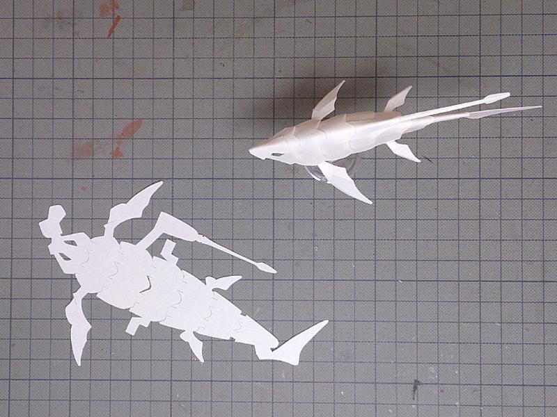 Armor Fish修正型紙