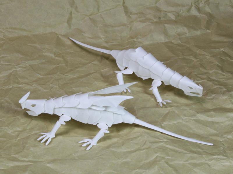 ドラゴンNo.13_左がVer.2 右がVer.1