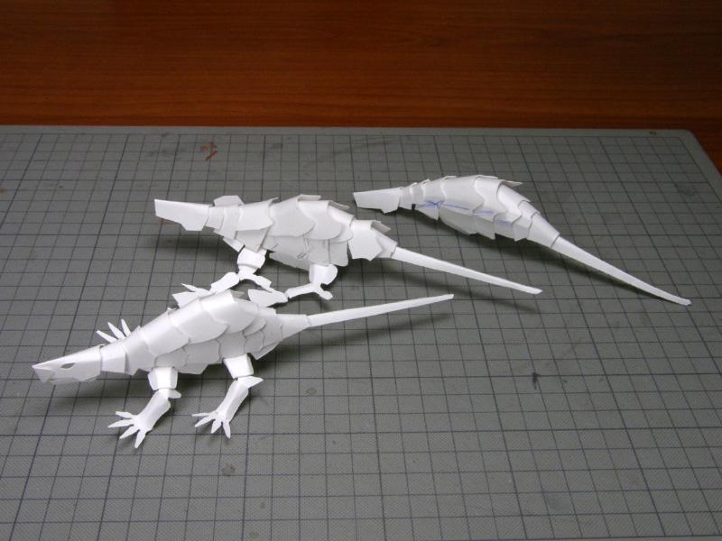 ドラゴンNO13、ケント紙の試作群