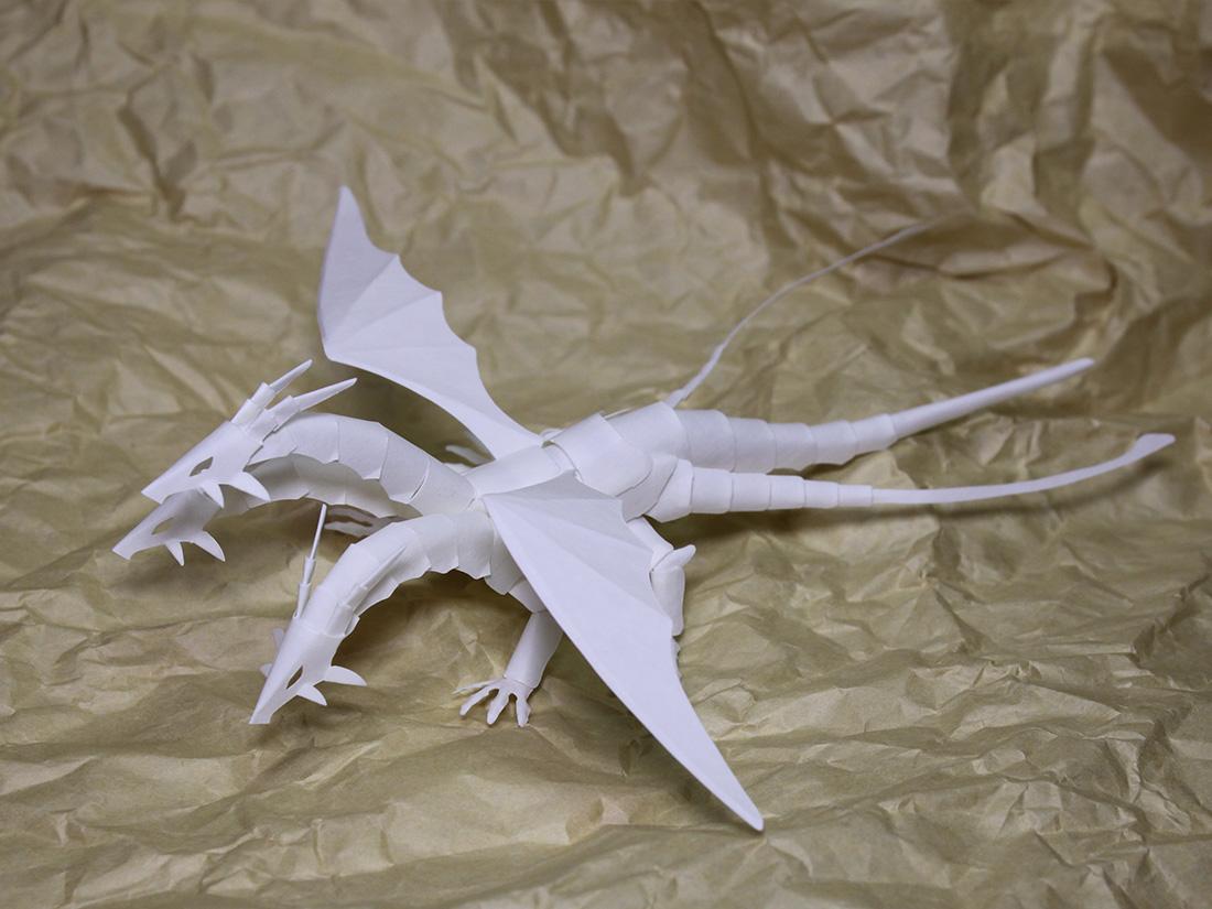 ファイバークラフト紙で作るミニドラゴンNo.18_Ver3_1